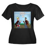Turkey F Women's Plus Size Scoop Neck Dark T-Shirt