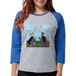 Turkey Farmer Womens Baseball Tee