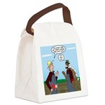 Turkey Farmer Canvas Lunch Bag