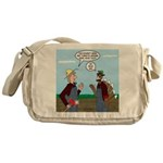 Turkey Farmer Messenger Bag