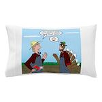 Turkey Farmer Pillow Case