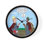 Turkey Farmer Wall Clock