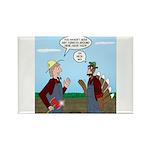 Turkey Farmer Rectangle Magnet (10 pack)