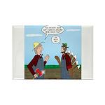 Turkey Farmer Rectangle Magnet (100 pack)