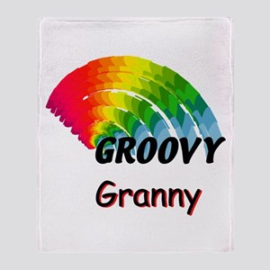 Groovy Granny Throw Blanket