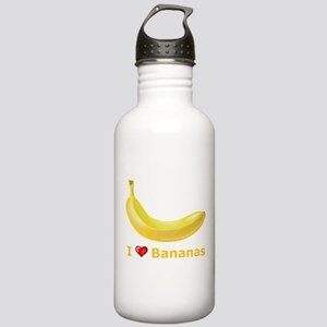 I Love Banana Stainless Water Bottle 1.0L