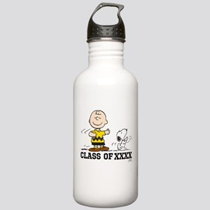 Charlie Brown Snoopy Stainless Water Bottle 1.0L