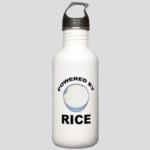 Powered By Rice Stainless Water Bottle 1.0L