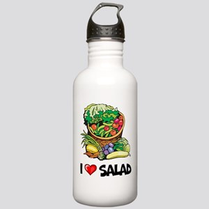 I Love Salad Stainless Water Bottle 1.0L
