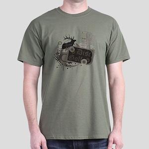 Oakland Disc Golf Dark T-Shirt