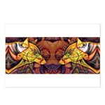 Two wolves Postcards (Package of 8)