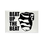 Beat Up The Beat Rectangle Magnet (10 pack)