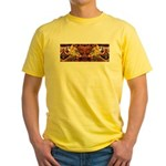 Two wolves Yellow T-Shirt