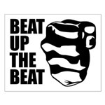 Beat Up The Beat Small Poster
