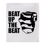 Beat Up The Beat Throw Blanket