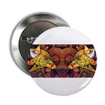 Two wolves Button