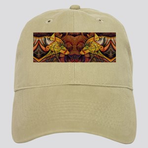 Two wolves Cap