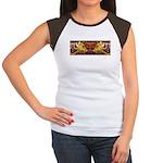 Two wolves Women's Cap Sleeve T-Shirt