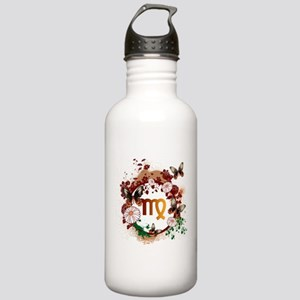 Psychedelic Virgo Stainless Water Bottle 1.0L