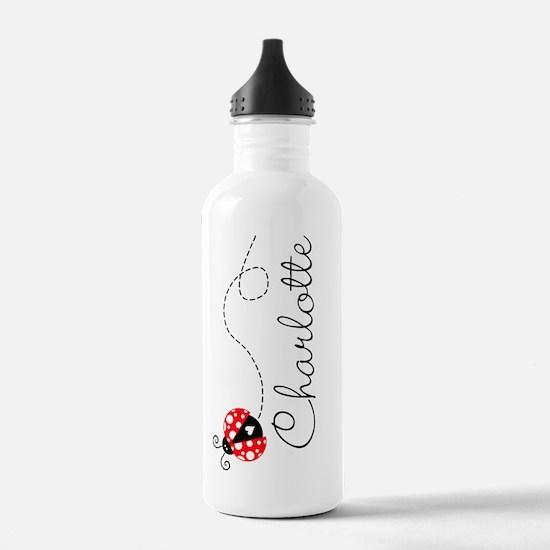 Ladybug Charlotte Water Bottle