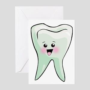 Dentist - Healthy Teeth Greeting Card
