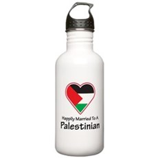 Happily Married Palestinian Stainless Water Bottle