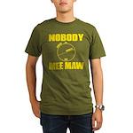 Moon Pi Organic Men's T-Shirt (dark)