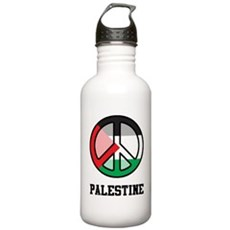 Peace In Palestine Stainless Water Bottle 1.0L