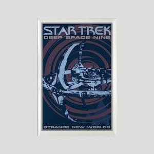 Retro Star Trek: DS9 Poster Rectangle Magnet