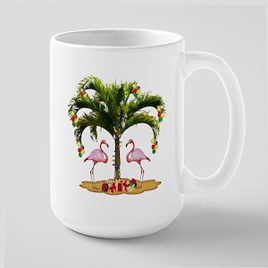 Tropical Holiday Large Mug