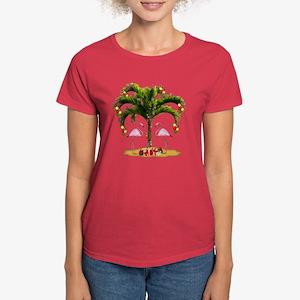 Tropical Holiday Women's Dark T-Shirt