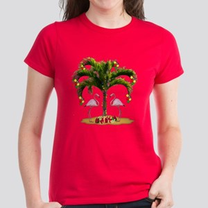 Tropical Holiday Women's Dark T-Shirt