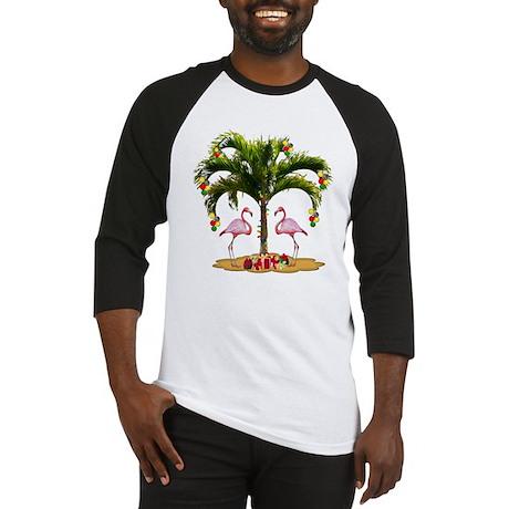 Tropical Holiday Baseball Jersey