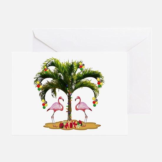 Tropical Holiday Greeting Card
