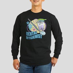 Dental Hygienists Long Sleeve Dark T-Shirt