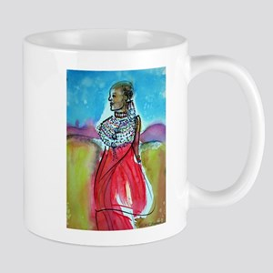 Africian Queen, Colorful, Mug