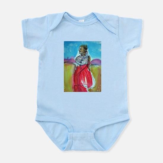 Africian Queen, Colorful, Infant Bodysuit