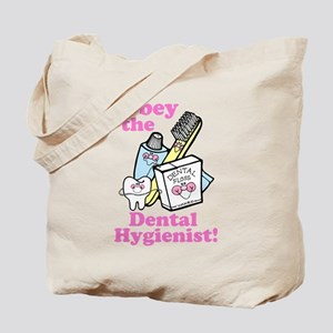 Funny Dentist Dental Hygienis Tote Bag