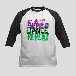 Eat Sleep Dance Repeat Kids Baseball Jersey