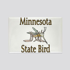 Minnesota State Bird Rectangle Magnet