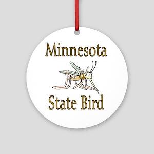 Minnesota State Bird Ornament (Round)