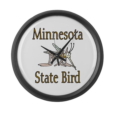 Minnesota State Bird Large Wall Clock