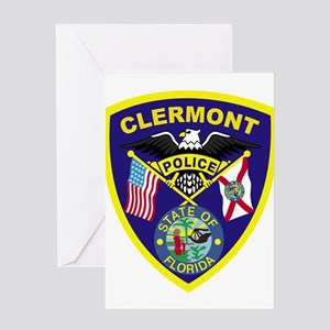 Clermont Police Dept Greeting Card
