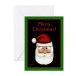 Santa Claus Greeting Cards (Pk of 10)