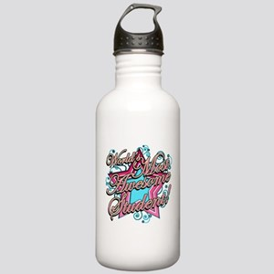 Worlds Most Awesome Student Stainless Water Bottle