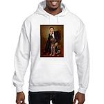 Lincoln / Chocolate Lab Hooded Sweatshirt