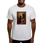 Lincoln / Chocolate Lab Light T-Shirt