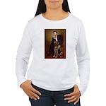 Lincoln / Chocolate Lab Women's Long Sleeve T-Shir
