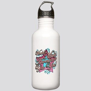 Worlds Best Yia Yia Stainless Water Bottle 1.0L