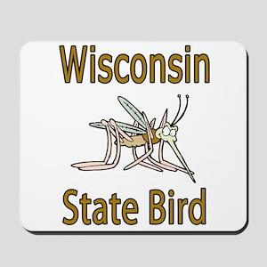 Wisconsin State Bird Mousepad